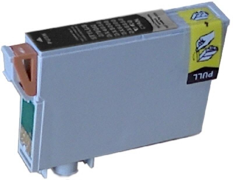 Epson T0711, kompatible Druckerpatronen, mit Chip, black, ersetzt 8715946495439 SV1148-+HP932xl-BK