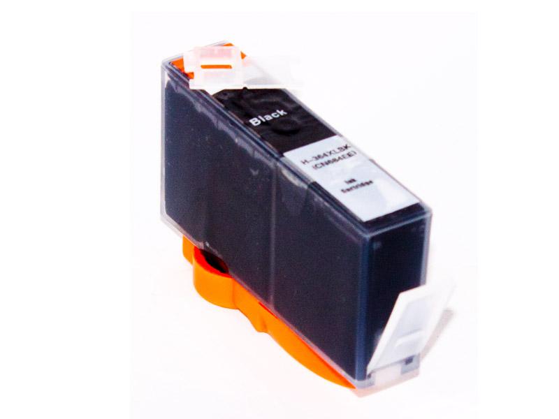 HP 364 XL kompatible Tintenpatrone , schwarz, ohne Chip ersetzt CN684E HP364BK-A-HP300XL B (CC641E )