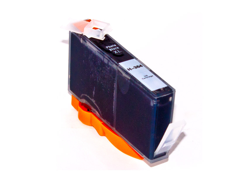 HP 364XL alternative Tintenpatrone, foto-schwarz, ohne Chip ersetzt CB322EE HP364PBK-A-HP300XL B (CC641E )